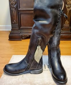 Bed Stu Surry tall lace up boots